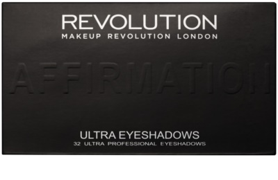 Makeup Revolution Affirmation paleta farduri de ochi cu oglinda mica 2