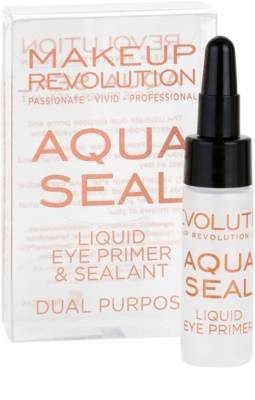 Makeup Revolution Aqua Seal основа та фіксатор для тіней 2в1 1