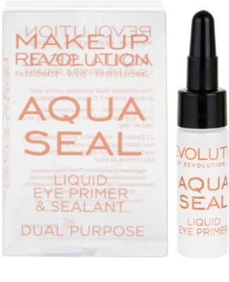 Makeup Revolution Aqua Seal основа та фіксатор для тіней 2в1 2