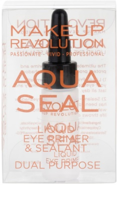 Makeup Revolution Aqua Seal основа та фіксатор для тіней 2в1 3
