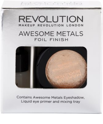 Makeup Revolution Awesome Metals sombra de ojos 2
