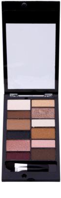 Makeup Revolution Awesome paleta farduri de pleoape si sprancene