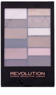 Makeup Revolution Awesome paleta senčil za oči in obrvi 1