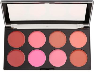 Makeup Revolution Blush Palette mit Creme-Rouge