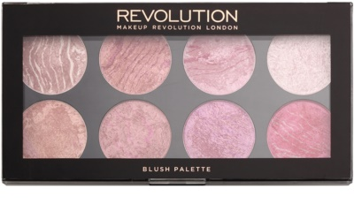 Makeup Revolution Blush paleta rdečil 1
