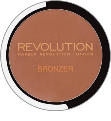 Makeup Revolution Bronzer autobronzant cu oglinda si aplicator