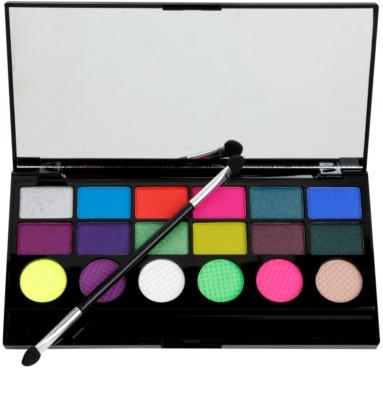 Makeup Revolution Colour Chaos szemhéjfesték paletták 1