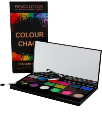 Makeup Revolution Colour Chaos szemhéjfesték paletták 2