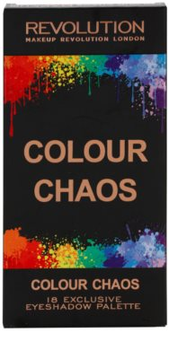 Makeup Revolution Colour Chaos paleta de sombras 4