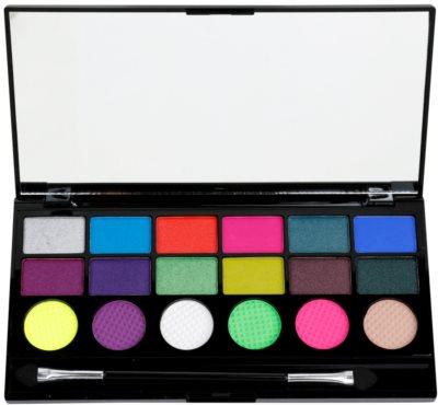 Makeup Revolution Colour Chaos paleta de sombras de ojos
