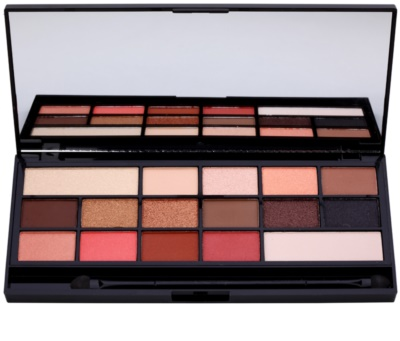 Makeup Revolution I ♥ Makeup Chocolate Vice палетка тіней з дзеркальцем та аплікатором