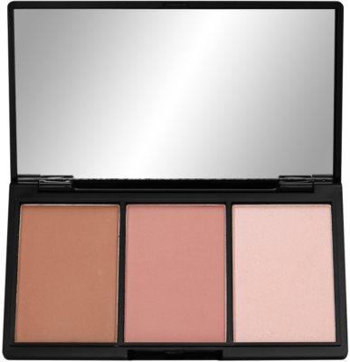 Makeup Revolution I ♥ Makeup Definition paleta pentru contur facial