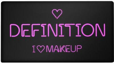 Makeup Revolution I ♥ Makeup Definition paleta do konturowania twarzy 1
