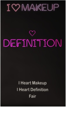 Makeup Revolution I ♥ Makeup Definition paleta do konturowania twarzy 2