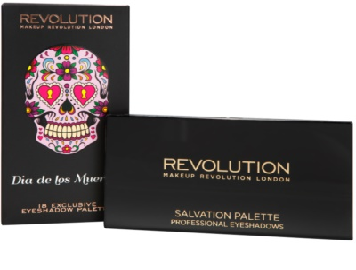 Makeup Revolution Dia De Los Muertos szemhéjfesték paletták 3
