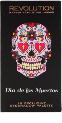 Makeup Revolution Dia De Los Muertos szemhéjfesték paletták 4