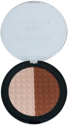 Makeup Revolution Duo bronceador e iluminador 2 en 1