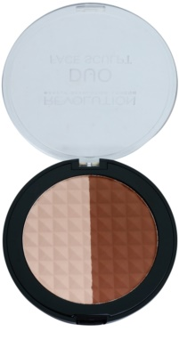 Makeup Revolution Duo bronzer a rozjasňovač 2 v 1
