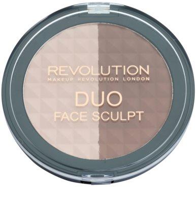 Makeup Revolution Duo bronzer a rozjasňovač 2 v 1 1