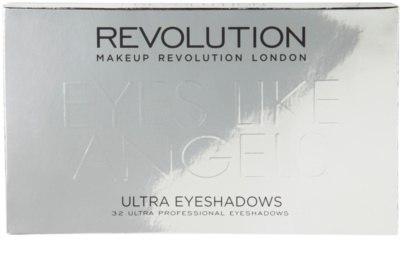 Makeup Revolution Eyes Like Angels палетка тіней 3