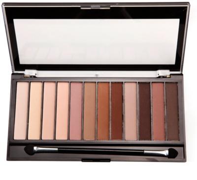 Makeup Revolution Essential Mattes 2 paleta de sombras 1