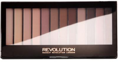 Makeup Revolution Essential Mattes 2 paleta de sombras 3