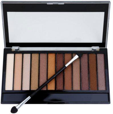 Makeup Revolution Essential Shimmers paleta de sombras de ojos 2
