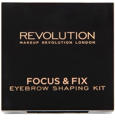 Makeup Revolution Focus & Fix set pentru sprancene perfecte 2