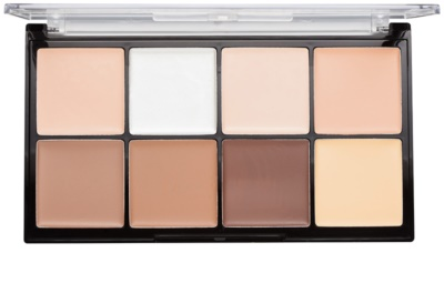 Makeup Revolution Ultra Pro HD Fair paleta do konturowania twarzy kremowa