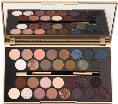 Makeup Revolution Fortune Favours the Brave paleta de sombras de ojos con espejo y aplicador