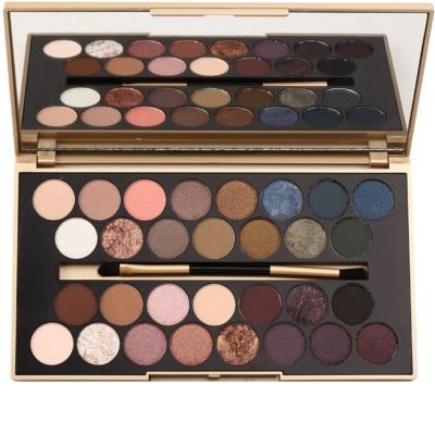 Makeup Revolution Fortune Favours the Brave палетка тіней з дзеркальцем та аплікатором