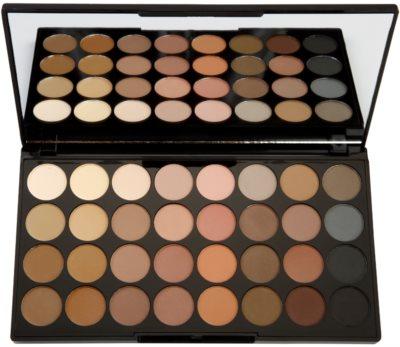 Makeup Revolution Flawless Matte Palette mit Lidschatten