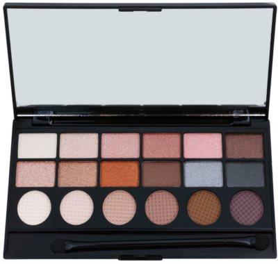 Makeup Revolution Girl Panic paleta očních stínů