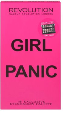 Makeup Revolution Girl Panic Palette mit Lidschatten 3