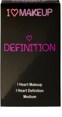 Makeup Revolution I ♥ Makeup I Heart Definition paleta para contornos faciales 2