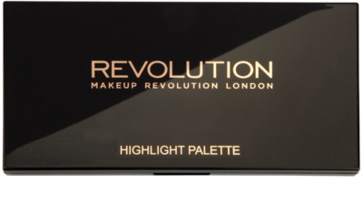 Makeup Revolution Highlight élénkítő púderek palettája 1