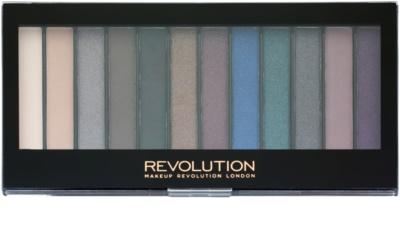 Makeup Revolution Hot Smoked paleta de sombras de ojos
