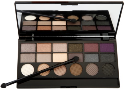 Makeup Revolution Hard Day paleta de sombras 1