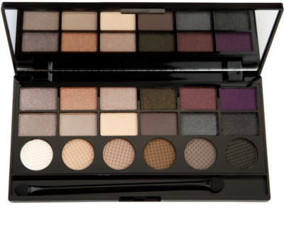 Makeup Revolution Hard Day paleta de sombras de ojos