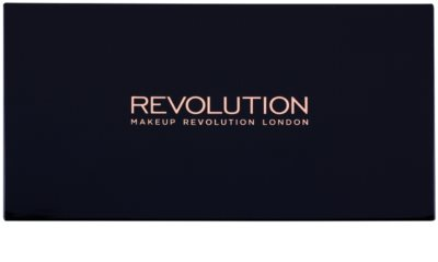 Makeup Revolution Iconic Smokey палетка тіней з дзеркальцем та аплікатором 1