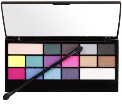 Makeup Revolution I ♥ Makeup I Heart Sin paleta cieni do powiek 1