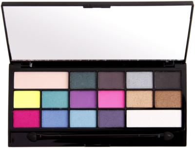 Makeup Revolution I ♥ Makeup I Heart Sin paleta cieni do powiek