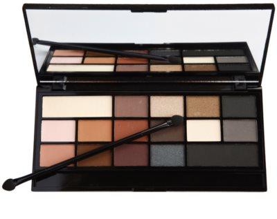 Makeup Revolution I ♥ Makeup Black Velvet палитра от сенки за очи 1
