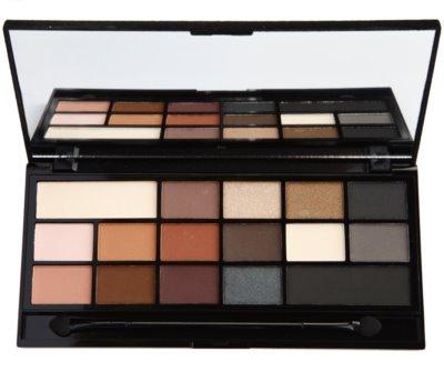 Makeup Revolution I ♥ Makeup Black Velvet paleta očních stínů
