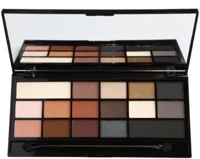 Makeup Revolution I ♥ Makeup Black Velvet paleta senčil za oči