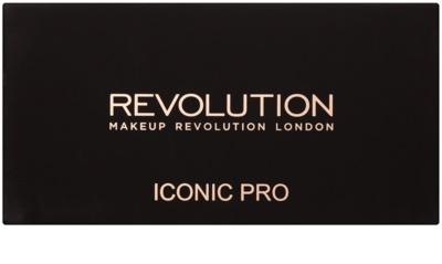 Makeup Revolution Iconic Pro 1 paleta cieni do powiek z lusterkiem i aplikatorem 1