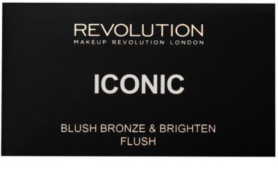Makeup Revolution Iconic paleta na kontury obličeje 2