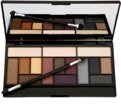 Makeup Revolution Pro Looks Big Love paleta de sombras de ojos 1