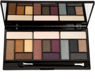 Makeup Revolution Pro Looks Big Love палитра от сенки за очи