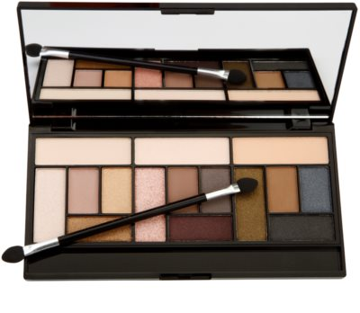 Makeup Revolution Pro Looks Stripped & Bare paleta cieni do powiek 1